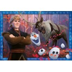24 pc Ravensburger - Frozen 2 Frosty Adventures  2x24 pc
