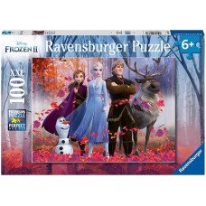 100 pc Ravensburger - Frozen 2 Magic in the Forest Puzzle XXL Pieces