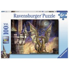 100 pc Ravensburger Puzzle - Gift of Fire / Dragon XXL Pieces