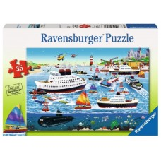 35 pce Ravensburger - Happy Harbour Puzzle  NEW in 2017