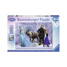 100 pc Ravensburger - In the Realm of the Snow Queen Puzzle XXL Pieces