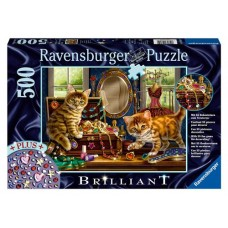 500 pc Ravensburger  - Jewellery Box Brilliant Jewel Puzzle