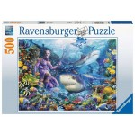 500 pc Ravensburger Puzzle - King of the Sea