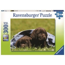 300 pc Ravensburger - Labrador Pups - XXL Pieces