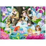 100 pc Ravensburger - Magical Fairy Night  XXL Pieces
