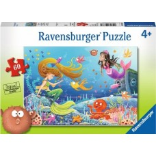 60 pc Ravensburger Puzzle - Mermaids Tales