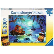 300 pc Ravensburger - Moonlit Mission Pirate XXL Pieces