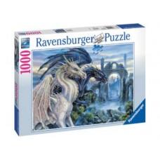 1000 pc Ravensburger Puzzle - Mystical Dragon