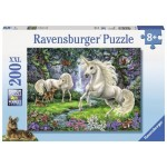 200 pc Ravensburger Puzzle - Mystical Unicorns  XXL Pieces