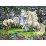 200 pc Ravensburger Puzzle - Mystical Unicorns  XXL Pieces