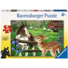 60 pc Ravensburger - New Neighbours Puzzle