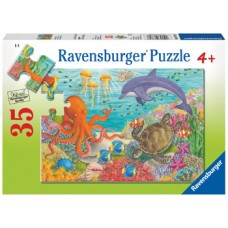 35 pce Ravensburger - Ocean Friends Puzzle *