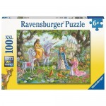 100 pc Ravensburger Puzzle -Princess Party XXL Pieces