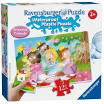 12 pc Ravensburger Puzzle Plastic - Princess Friends