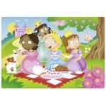 12 pc Ravensburger Puzzle Plastic - Princess Friends
