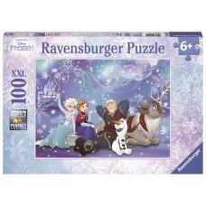 100 pc Ravensburger Puzzle - Frozen 2 Ice Magic Puzzle XXL Pieces