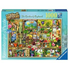 1000 pc Ravensburger Puzzle - The Gardeners Cupboard