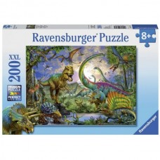 200 pc Ravensburger - Realm of the Giants - Dinosaur Puzzle  XXL