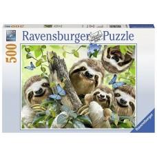 500 pc Ravensburger - Sloth Selfie Puzzle