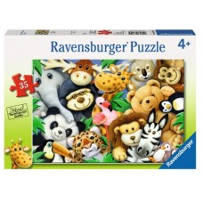 35 pce Ravensburger - Softies Puzzle