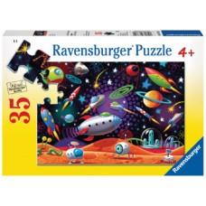 35 pce Ravensburger - Space Puzzle