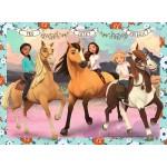 100 pc Ravensburger Puzzle - Spirit Lucky & Her Friends - Spirit Riding Free