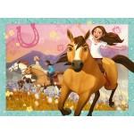 150 pc Ravensburger - Spirit Free & Wild Puzzle - Spirit Riding Free