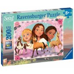 200 pc Ravensburger - Spirit Adventure with Lucky - Spirit Riding Free