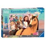 300 pc Ravensburger - Spirit Adventure on Horses - Spirit Rising Free