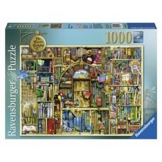 1000 pc Ravensburger Puzzle - The Bizarre Bookshop 2