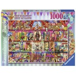 1000 pc Ravensburger Puzzle -The Greatest Show on Earth