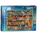 500 pc Ravensburger - Toy Wonderama Aimee Stewart Puzzle