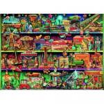 500 pc Ravensburger - Toy Wonderama Aimee Stewart Puzzle