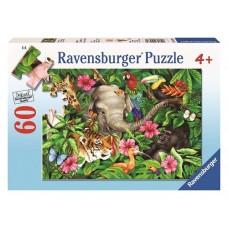 60 pc Ravensburger Puzzle - Tropical Friends