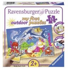 12 pc Ravensburger Puzzle Plastic - Underwater Fun