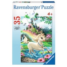 35 pce Ravensburger - Unicorn Castle