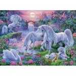 150 pc Ravensburger - Unicorns at Sunset Puzzle XXL pieces