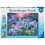 150 pc Ravensburger - Unicorns at Sunset Puzzle XXL pieces