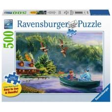 500 pc Ravensburger Puzzle - Weekend Escape - LARGE FORMAT