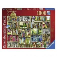 1000 pc Ravensburger Puzzle - The Bizarre Bookshop