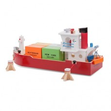 Container Ship Wooden - New Classic Toys LAST ONE