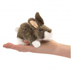 Finger Puppet - Cottontail Rabbit - Folkmanis