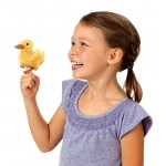 Folkmanis Finger Puppet - Duckling with Sound