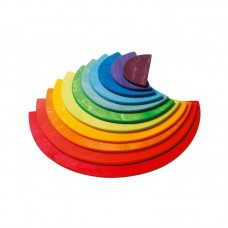 Semi-Circles Rainbow Large for Rainbow Stacker -  Grimm's Toys