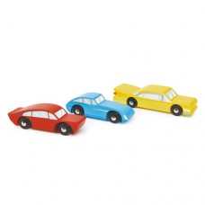 Cars Retro Wooden 3 pack - Tenderleaf Toys