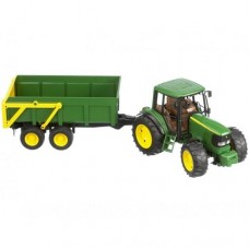 John Deere Tractor 5115 with Tipping Trailer - Bruder 6920