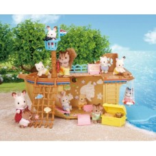 Sylvanian Families - Adventure Treasure Ship *