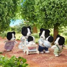 Sylvanian Families - Border Collie Family with Twins LIMITED EDITION 35th Anniversary