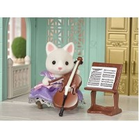 Sylvanian Families - Concert Set Cello Player - Town Series New in 2018