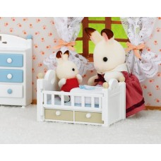 Sylvanian Families - Chocolate Rabbit Baby Set